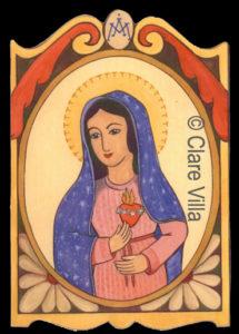 El Corazon Immaculado de Santa Maria